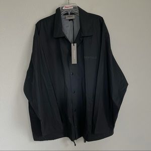 Essentials Fear Of God Coach Button Front Jacket